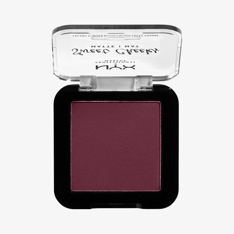 sweet cheeks matte creamy powder blush van nyx professional makeup