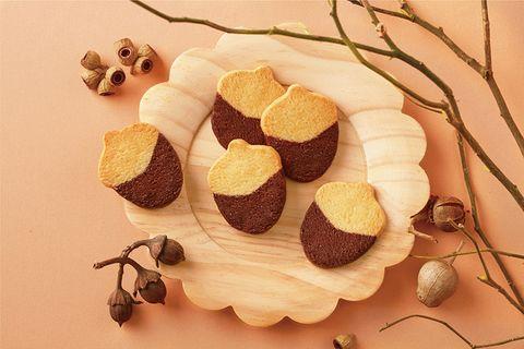 橡果造型餅乾