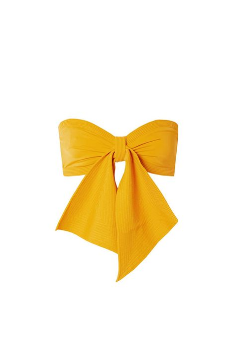 Yellow, Orange, Bow tie, Ribbon, Fashion accessory,