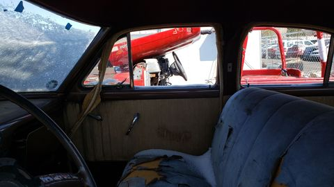 1953 packard clipper sedan in colorado junkyard