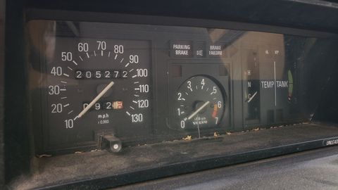 1979 volvo 245 dl in colorado junkyard