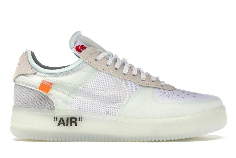 Off White x Nike Air Force 1 Low;The Ten; Tutte Bianche