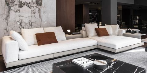 Interior design, Room, Living room, Serveware, Wall, Home, Floor, White, Furniture, Couch,