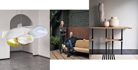Furniture, Product, Table, Lamp, Room, Floor, studio couch, Interior design, Design, Tile,