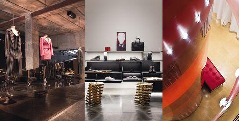 Interior design, Room, Furniture, Building, Automotive design, Architecture, Table, Flooring, Floor, Loft,