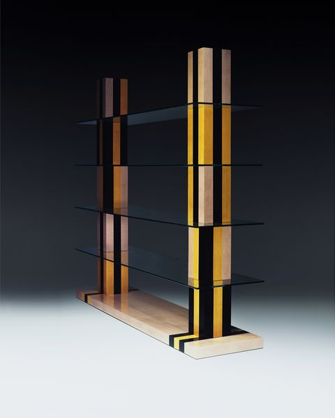 marquetry shelves by jonathan saunders