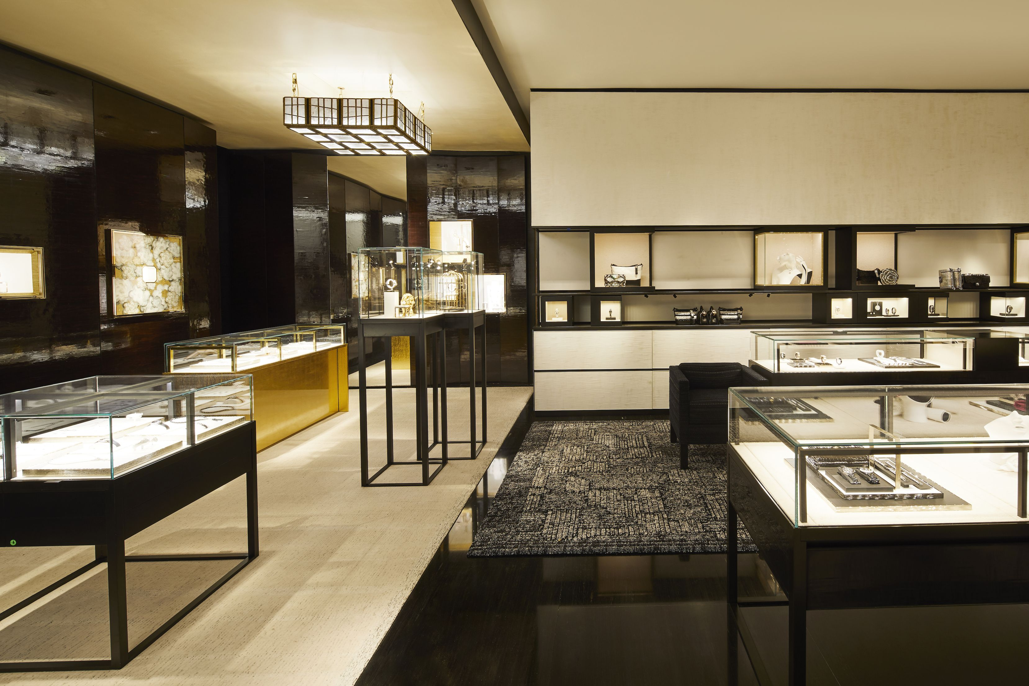 The fourth floor features a wide array of accessories, including ready-to-wear jewelry and time pieces.
