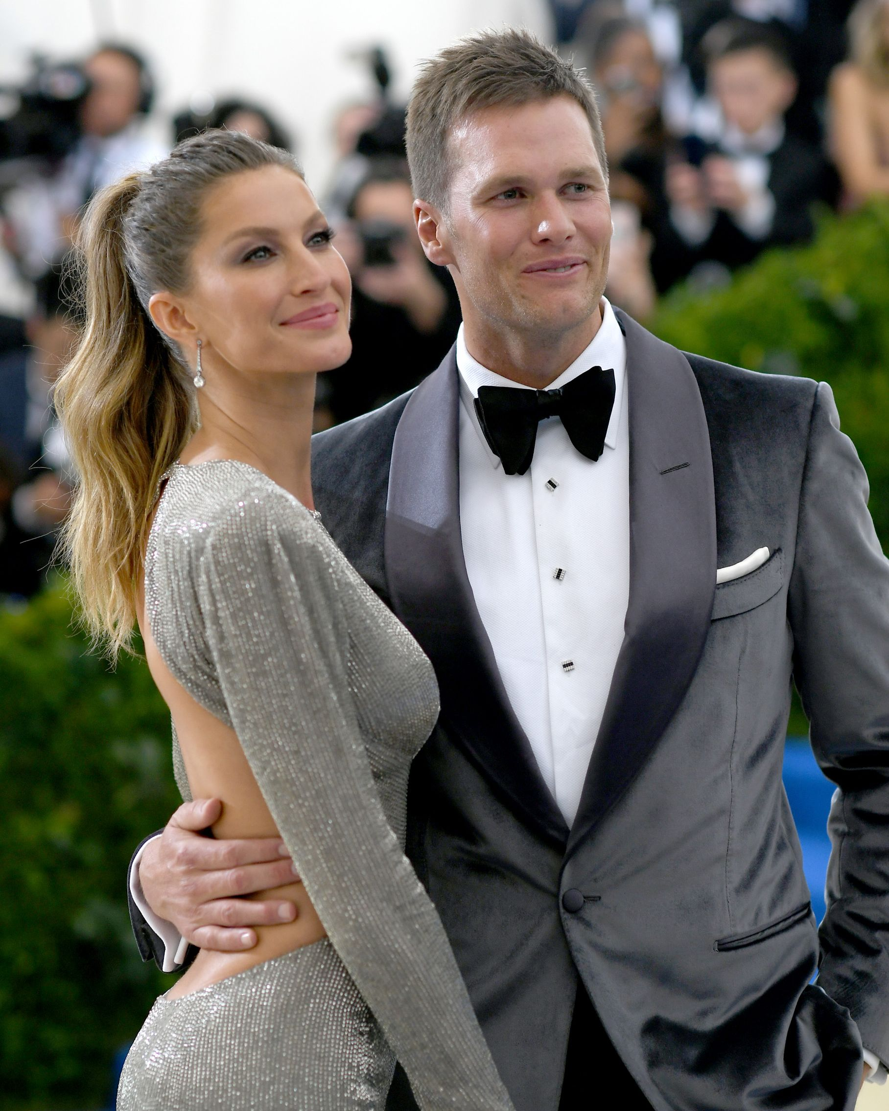 "Gisele Bündchen and Tom Brady The model and quarterback met through a mutual friend who decided to play matchmaker. ""This friend told me he knew a girl version of me,"" the NFL player told Details back in 2009 ."