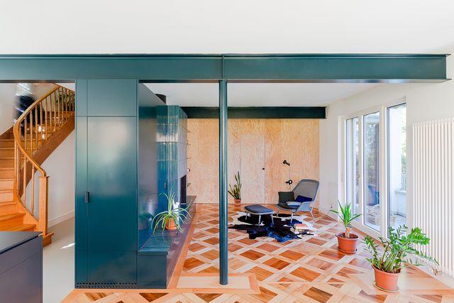 la villa a losanna di bureau brisson architectes