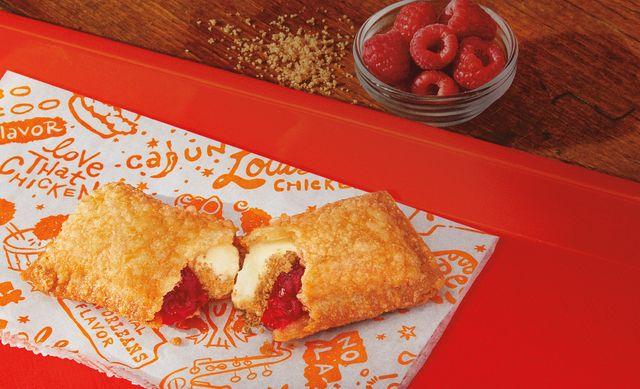 popeyes raspberry cheesecake pie