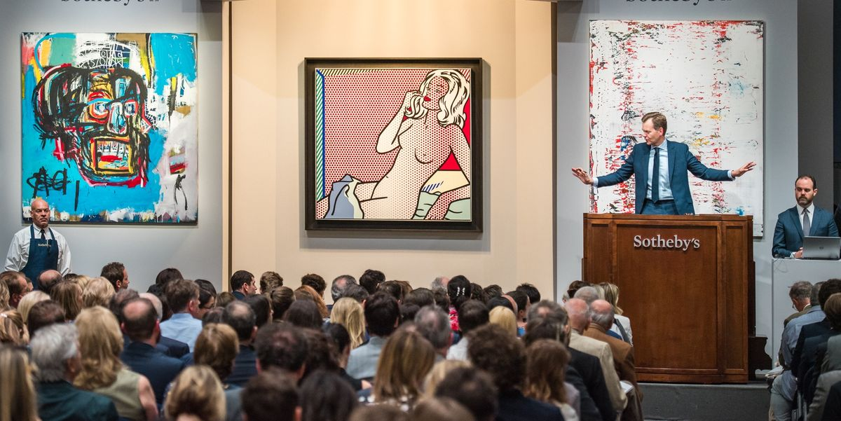 Jean Michel Basquiat Painting Sells For 110 5 Million At