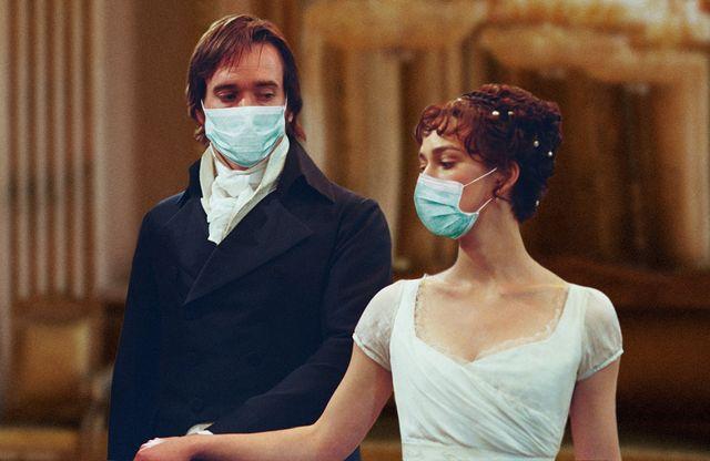 jane austen masks