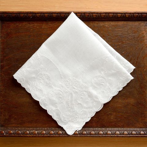 Handkerchief, Napkin, Paper, Rectangle, Textile, Paper product, Bandana, Square, Linens, Tissue paper,