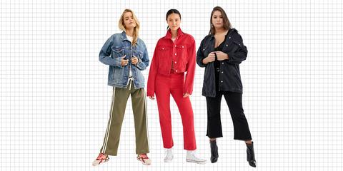 Clothing, Jeans, Standing, Fashion, Outerwear, Workwear, Denim, Textile, Jacket, Design,
