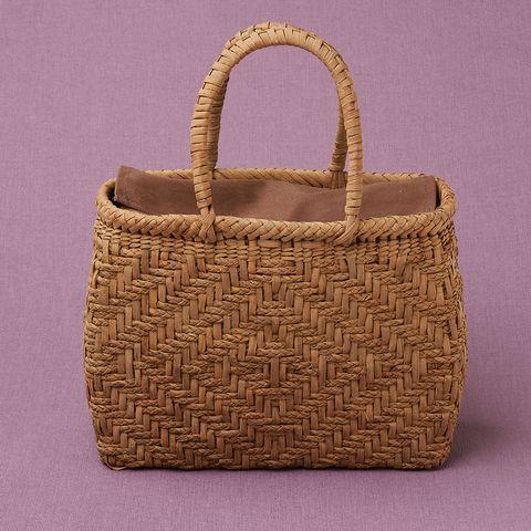 つる工房鷹山 山ぶどう籠バッグ 三つ編み菱形網代小 220,000円