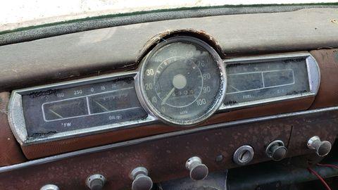 1959 mercedesbenz w120 in california junkyard