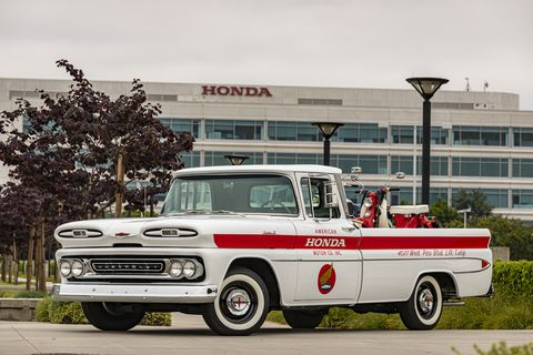 American Honda Restores a Vintage Chevrolet Apache, a Pickup It Once Used to Deliver Bikes
