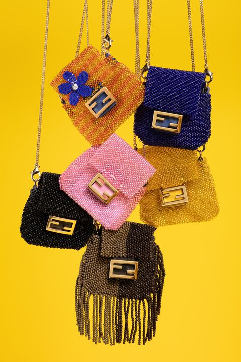 Bag, Handbag, Yellow, Fashion accessory, Shoulder bag, Material property, Font, Brand,