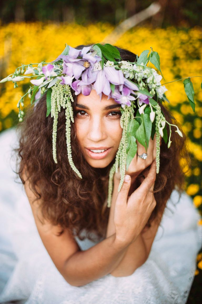 Flower crown wedding 15 flower crowns for boho brides veronica varos photography izmirmasajfo Image collections