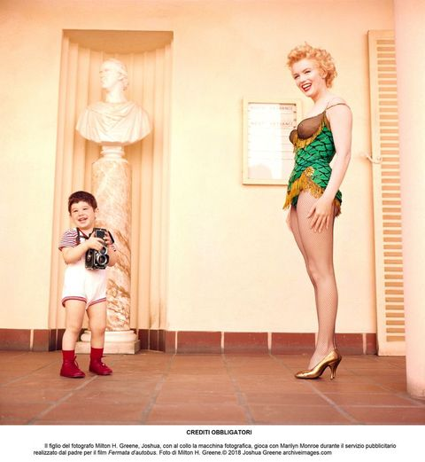 Marilyn Monroe,Milton H. Greene