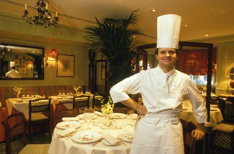 Restaurant, Chef, Waiting staff, Cook, Function hall, Room, Culinary art, Food, Business, Meal,