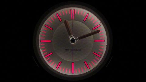 car clocks