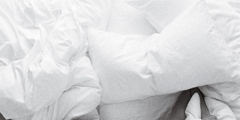 Sleep Insomnia: Woman in bed