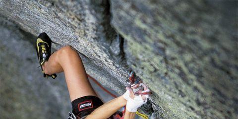 Rock Mountain Climbing