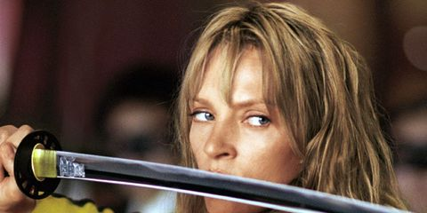 Anger Control: Uma Thurman in Kill Bill