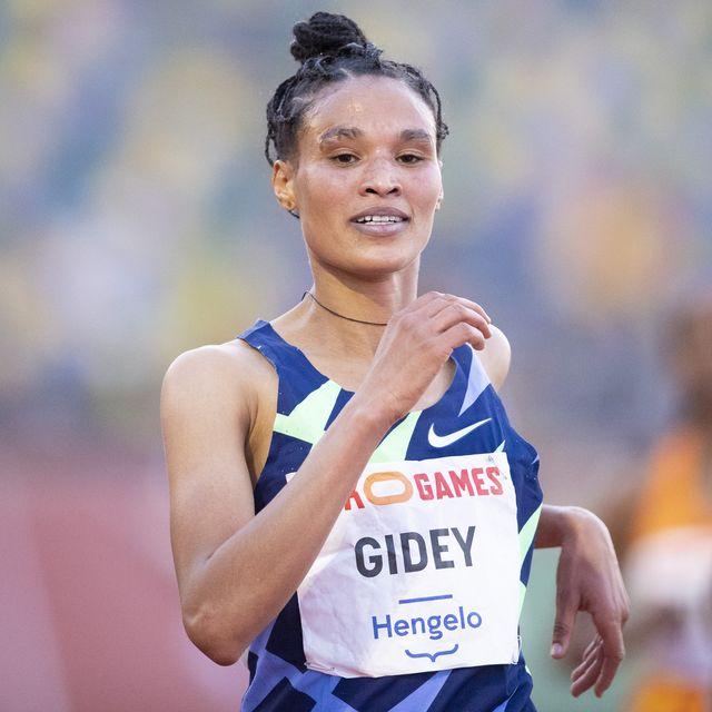 ethiopian trials letesenbet gidey breaks world record