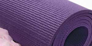 Workout away from home: Yoga mat