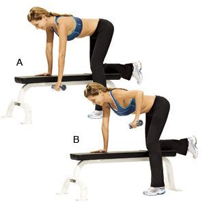 Image result for Dumbbell rows