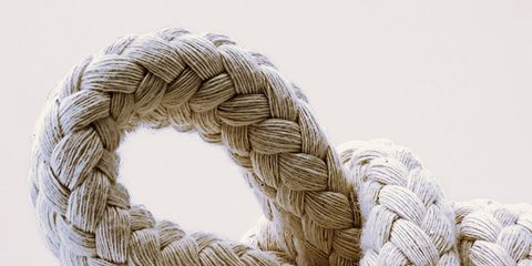 Muscle cramps: Knotted rope