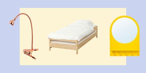 Furniture, Product, Yellow, Bed, Bed frame, Comfort, Mattress pad, Mattress, Futon, Futon pad,