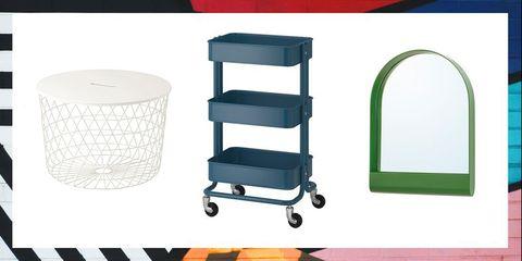 Shelf, Product, Furniture, Table, Cart, Vehicle, Kitchen cart, Shelving, Metal, Plastic,