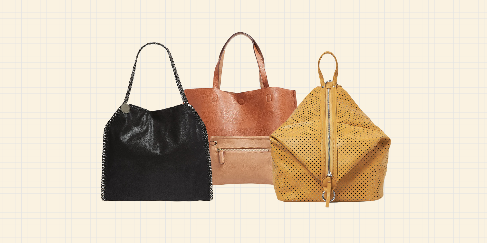 These Chic Vegan Leather Bags Are My New Obsession