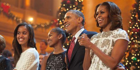 Smile, People, Event, Trousers, Social group, Dress, Coat, Christmas decoration, Happy, Suit,