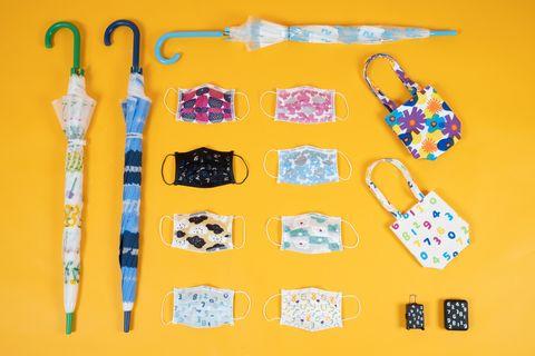 711 x sou・sou推15款絕美印花日用品!口罩、雨傘、小提袋、行動電源⋯開賣必搶