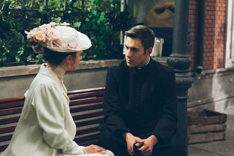 People, Headgear, Religious institute, Temple, Conversation,