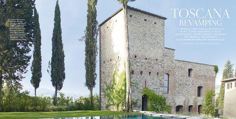 Property, Building, Architecture, Medieval architecture, Tree, House, Real estate, Villa, Château, Castle,