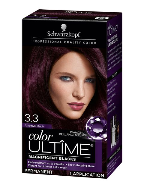 Hair, Hair coloring, Violet, Product, Brown, Brown hair, Purple, Black hair, Liver, Material property,