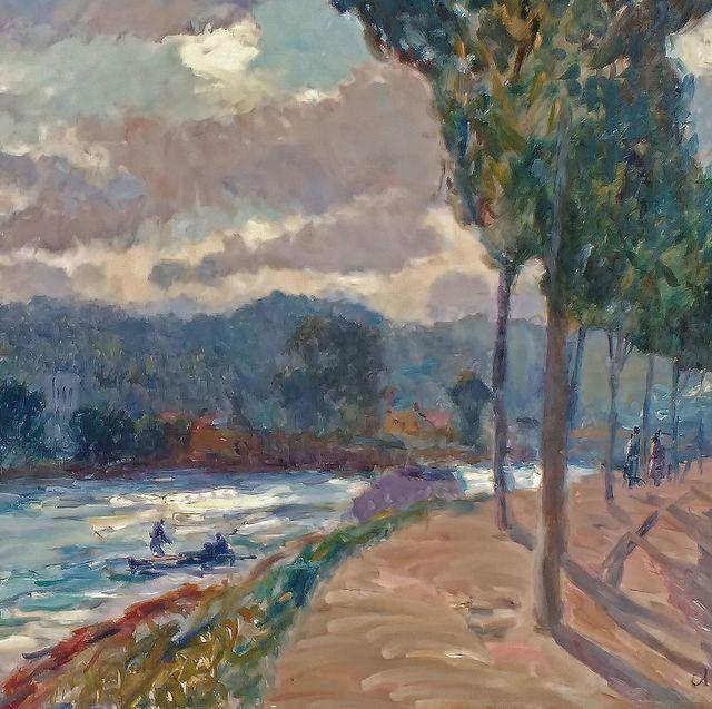 Albert-Charles Lebourg, 'Les coteaux de Sèvres'