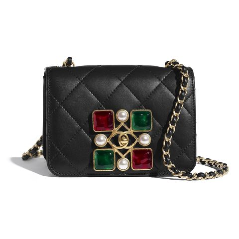 chanel bag with jewels