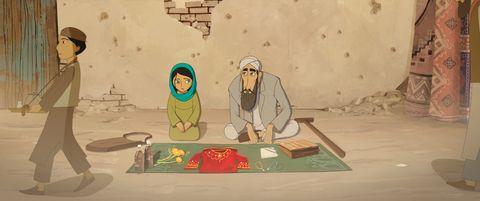 Illustration, Nativity scene, Animation, Landscape, Art,