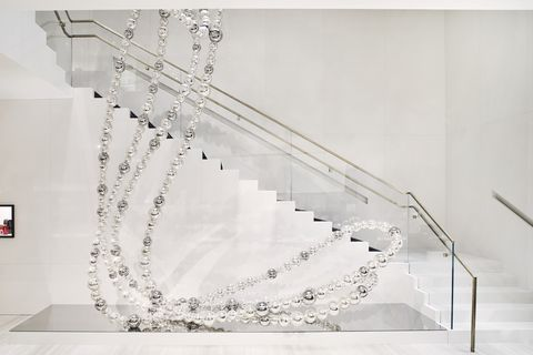 White, Stairs, Font, Glass,