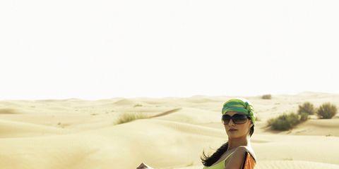 Vacation Ideas: Woman on Beach