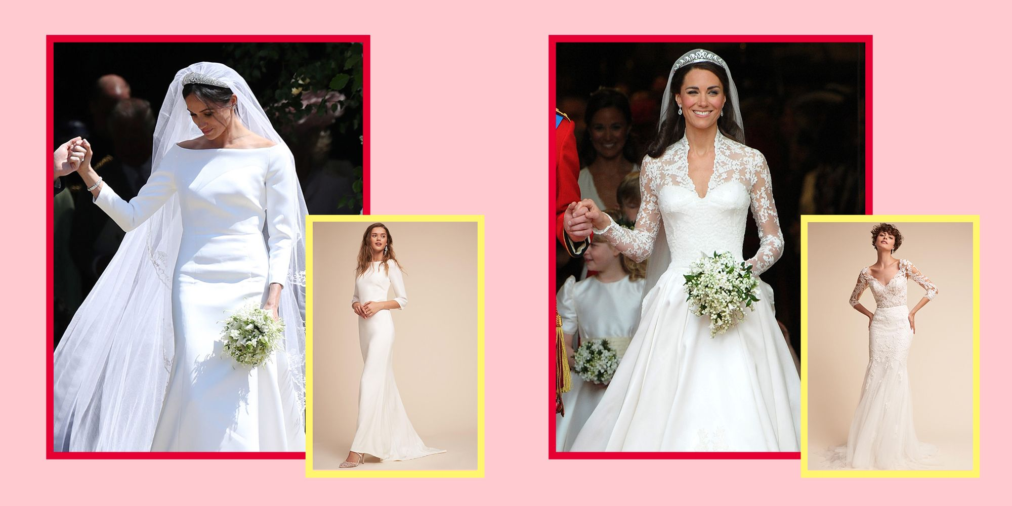 6b0070d5a52 Shop Celebrity-Inspired Wedding Dresses - Best Celebrity Wedding Dresses