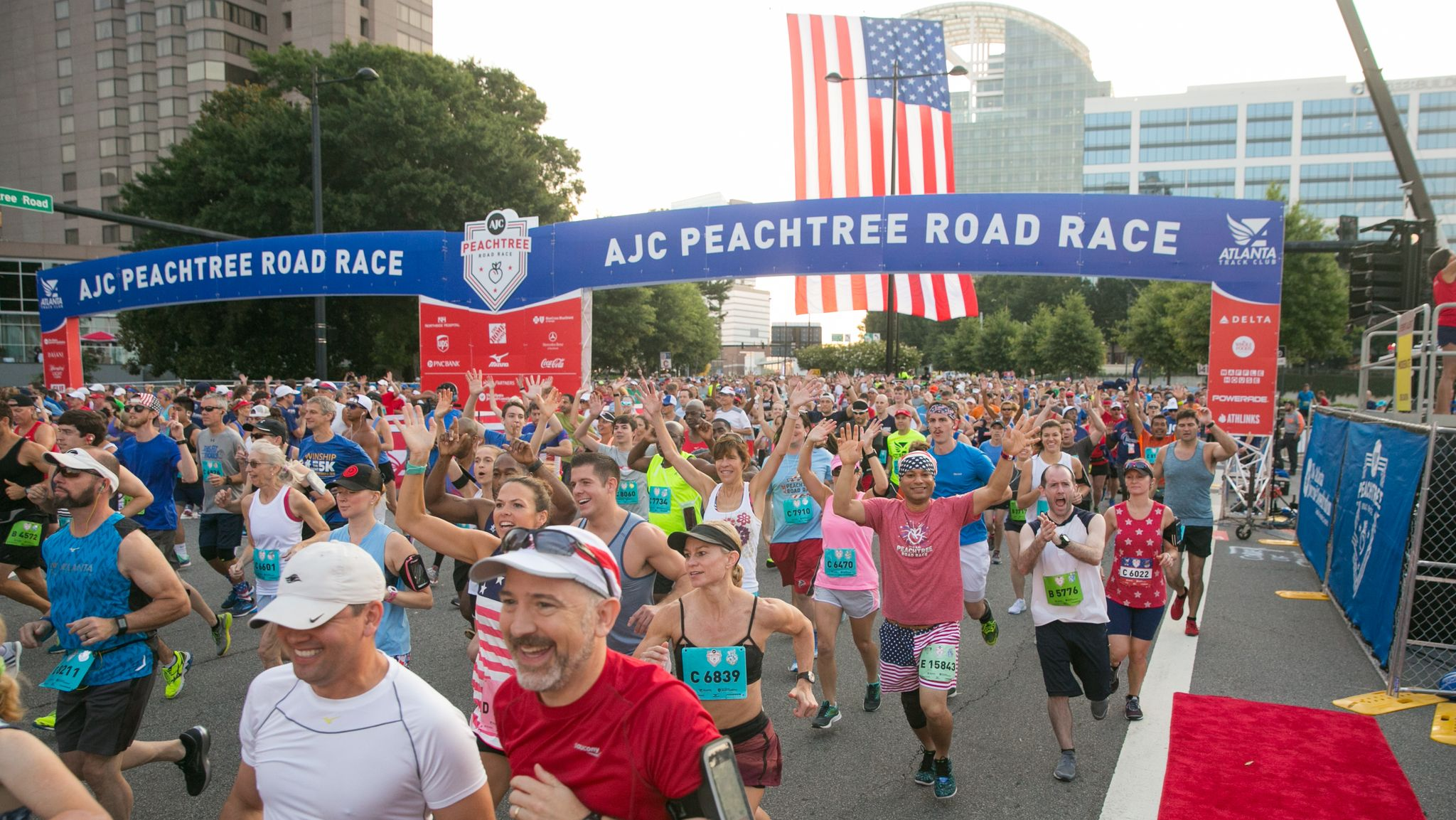 A Race Grows in Atlanta: 50 Years of Peachtree