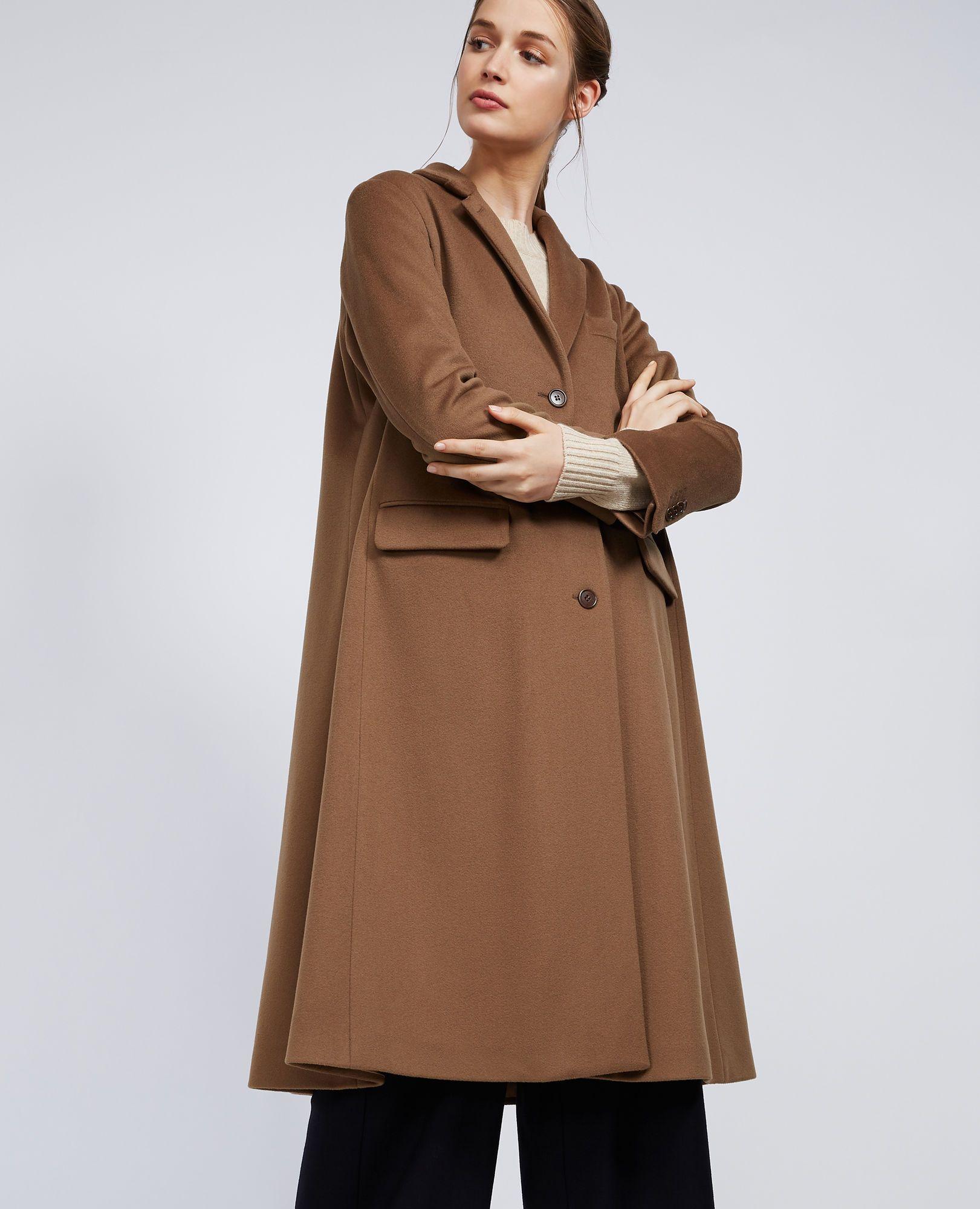 cappotti autunno 2018, tendenza cappotti autunno 2018, cappotti cammello
