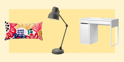 Product, Lighting, Line, Furniture, Lamp, Table, Desk, Light fixture, Floor, Room,